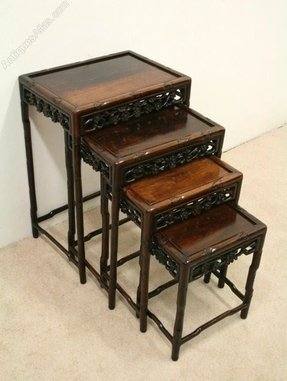 Chinese nesting tables foter chinese nest of tables watchthetrailerfo
