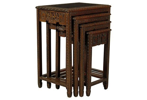 Bon Chinese Nesting Tables 7