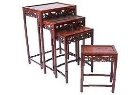 Chinese nesting tables foter chinese stacking tables watchthetrailerfo