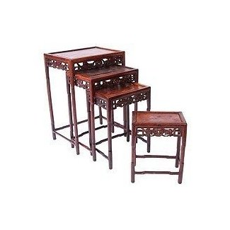 Chinese stacking tables