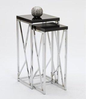 Very best Chrome Nesting Tables - Foter VH87