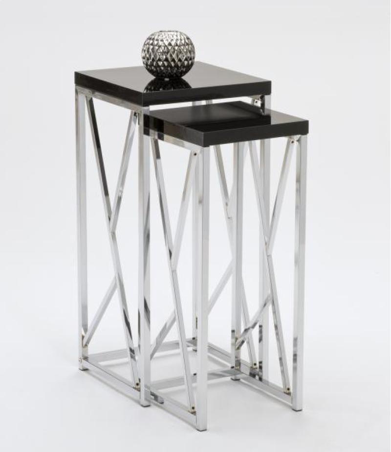 Chrome Nesting Tables 1
