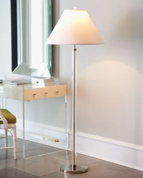 Clear lucite floor lamp contemporary floor lamps