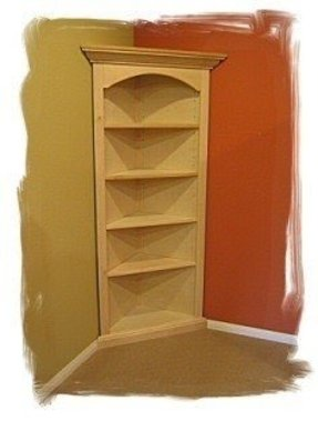 Corner bookcases for sale