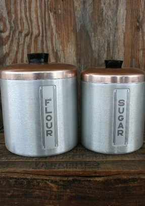 Flour Sugar Canisters - Foter