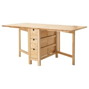 Ikea folding tables to buy or not in ikea foter for Mesas de comedor plegables ikea