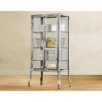 Glass metal curio cabinets 3