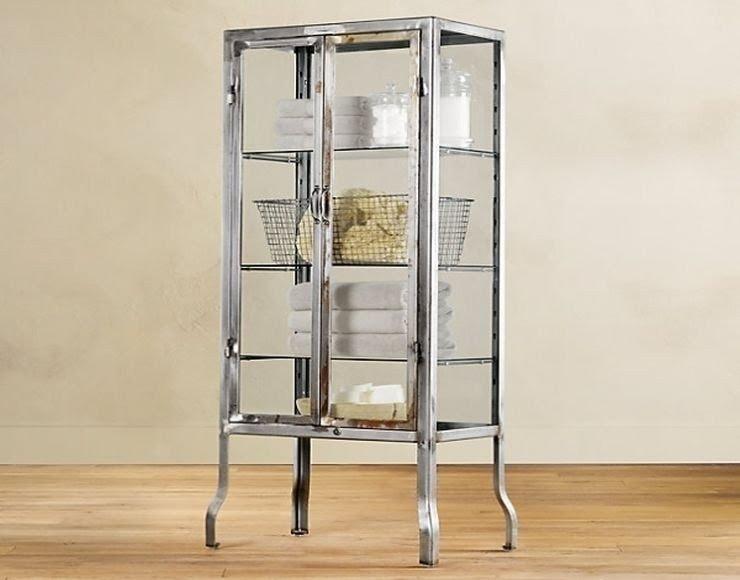 Bon Glass Metal Curio Cabinets 3