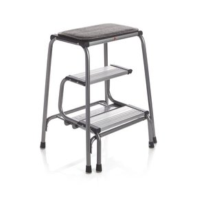 Kitchen Stool With Steps And Seat