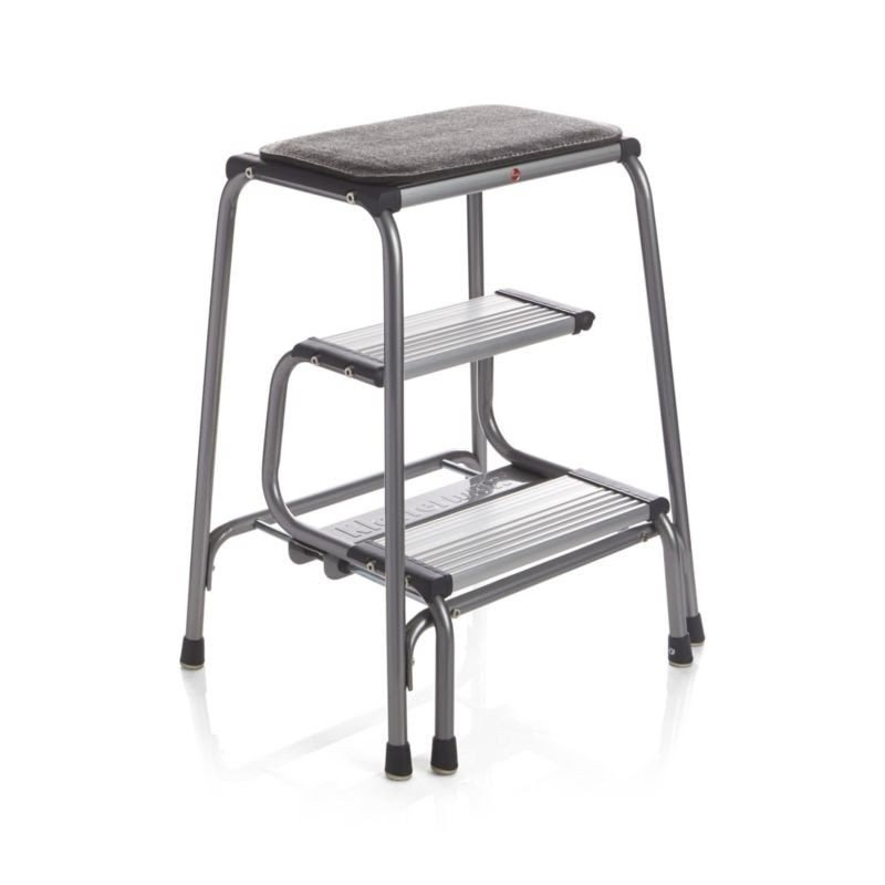 Captivating Kitchen Stool With Steps And Seat