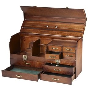 Leather storage chests 1