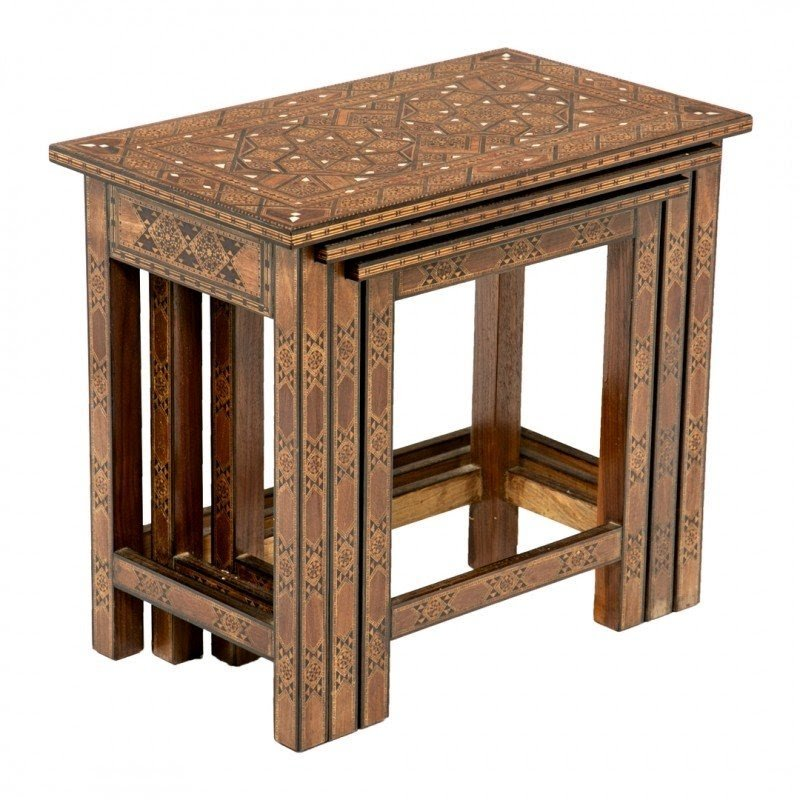 Superieur Moroccan Nesting Tables 1