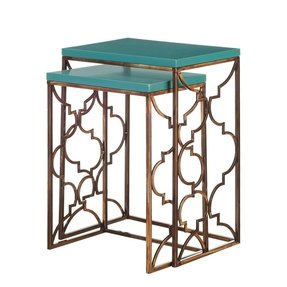 Moroccan nesting tables 30
