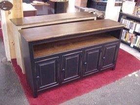 Old fashioned tv stands