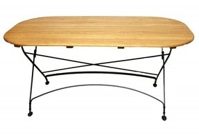 Oval folding tables 11