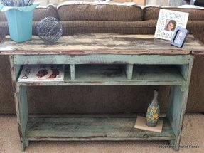 Shabby chic nesting tables 18