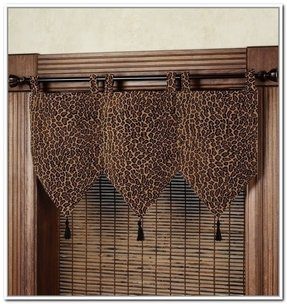 Leopard Print Window Curtains Ideas On Foter