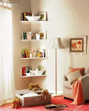 Corner Shelves For Bedroom - Foter