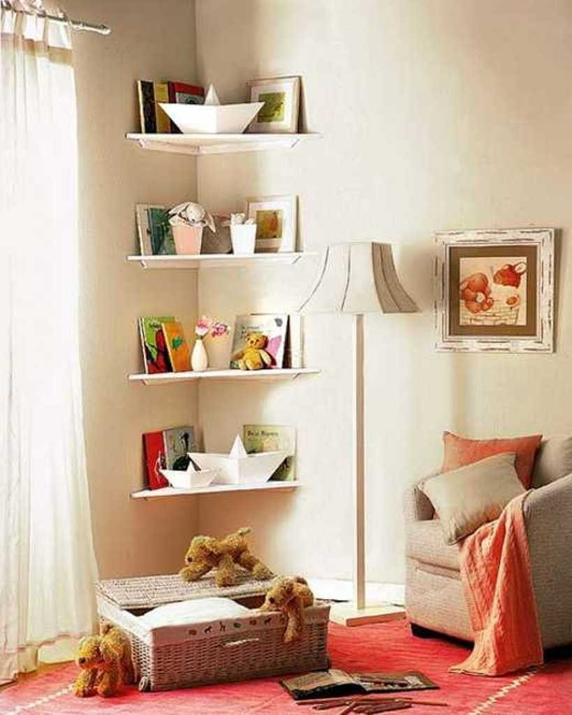Marvelous Corner Bedroom Furniture. Shelf Bedroom Corner Furniture A