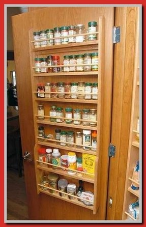Large Wall Spice Rack Foter