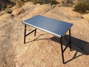 Stainless steel folding tables