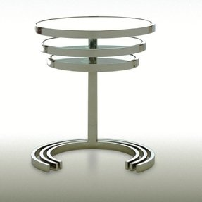 Stainless steel nesting tables 3