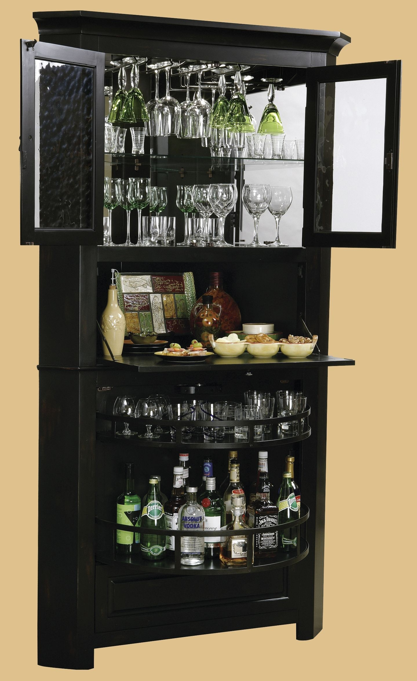 Exceptionnel Tall Wine Cabinet 2
