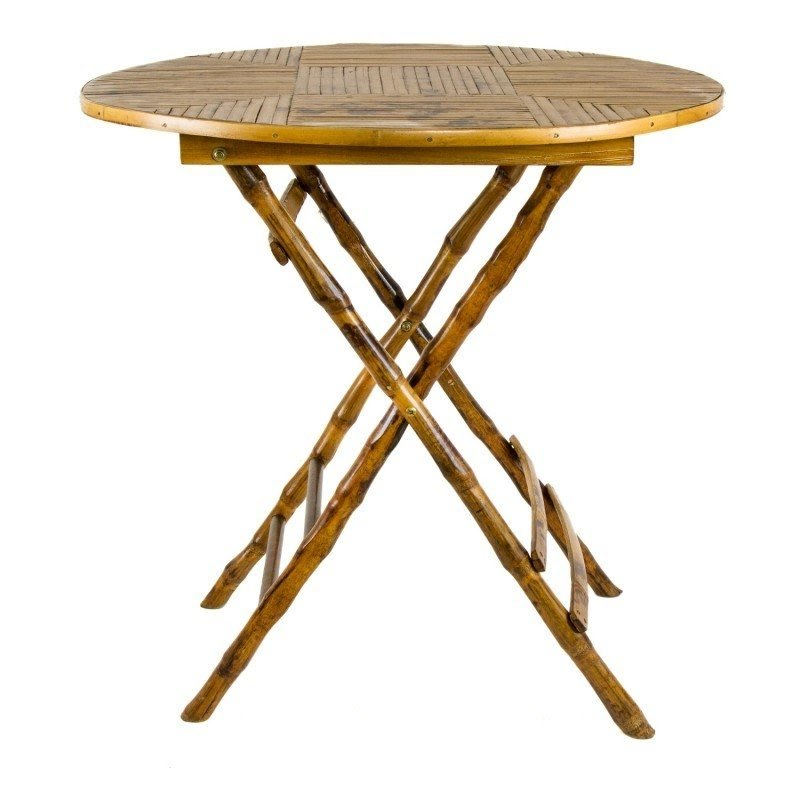 Charmant Tortoise Bamboo Folding Table Tables Furniture