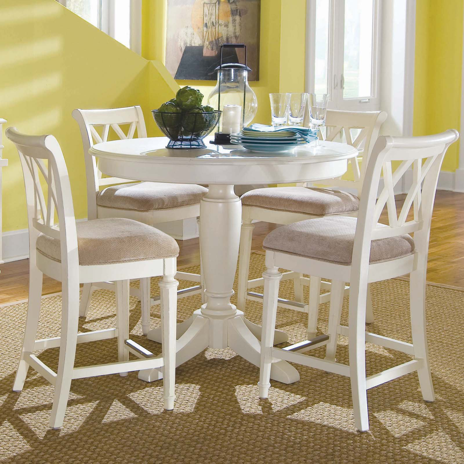 Merveilleux White Pub Table Sets   Ideas On Foter