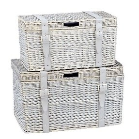Wicker storage chest from marks spencer great way for some