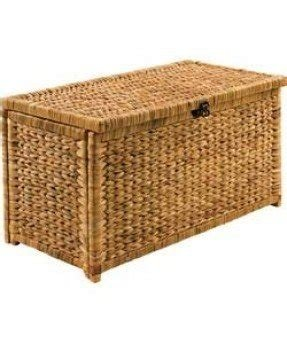 Wicker storage chests 10