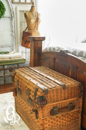 Wicker trunks