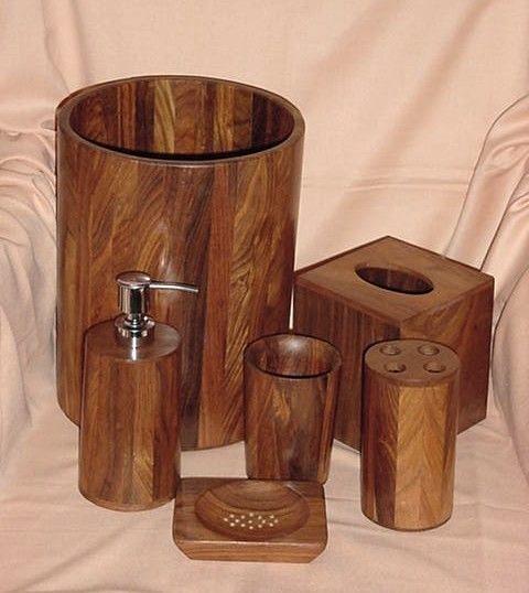 Superieur Wood Bath Accessories 2