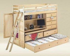 All in one loft bed foter - All in one double bed ...