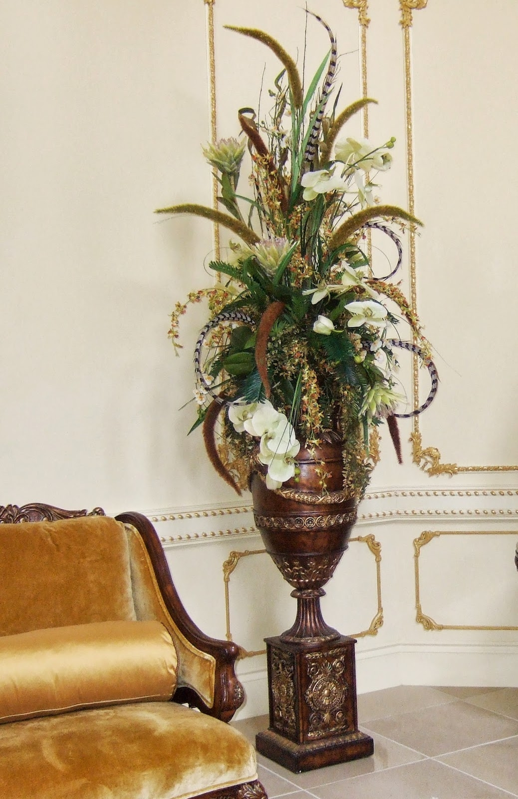 Artificial Floral Arrangements Centerpieces 1