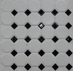 White Vinyl Flooring Kitchen