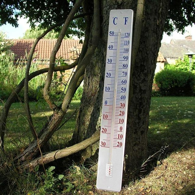 Superieur Large Outdoor Thermometers   Ideas On Foter
