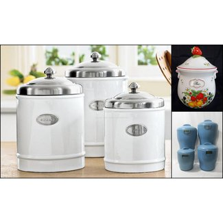 Metal Kitchen Canisters - Ideas on Foter