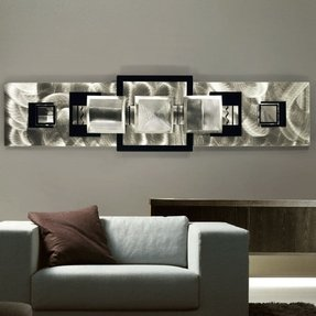 Contemporary Metal Wall Decor