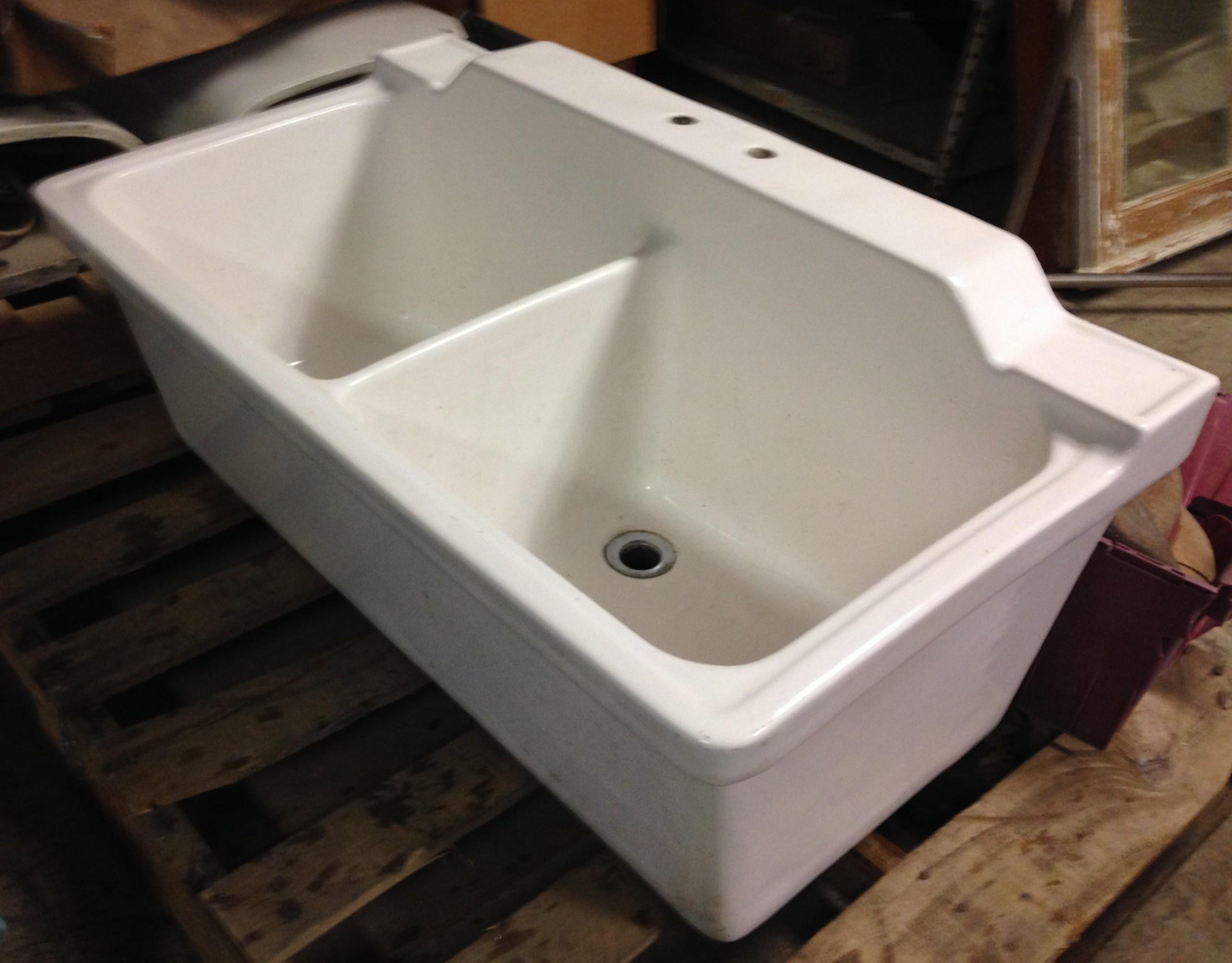 Deep Ceramic Sink