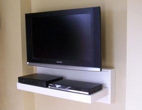 Floating Shelf For Tv Components Foter