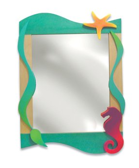 Home kids mirrors tropical seas wall mirror