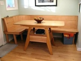 Kitchen Bench With Back Foter