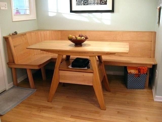 Kitchen Bench With Back