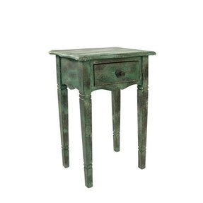 Love this distressed end table