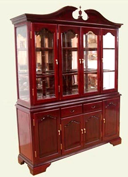 Exceptionnel Product Id Rosewood English China Hutch 1