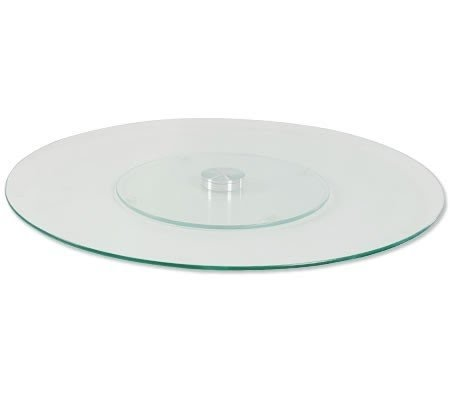 Charmant Product This Glass Lazy Susan Turntable May Just Be Your.  Glass_lazy_susan_turntable_with_screen_printing Jpg