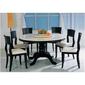 Round marble dining table set 2 & Round Marble Dining Table Set - Foter