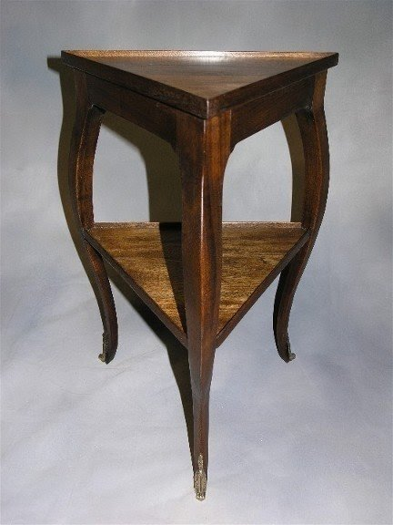 Amazing Triangular Side Table 7