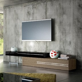 unusual modern tv wall. Unique ideas for tv stands Tv Stands  Foter
